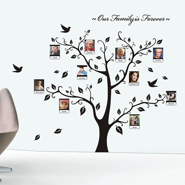 Family is Forever Tree Wall Decal