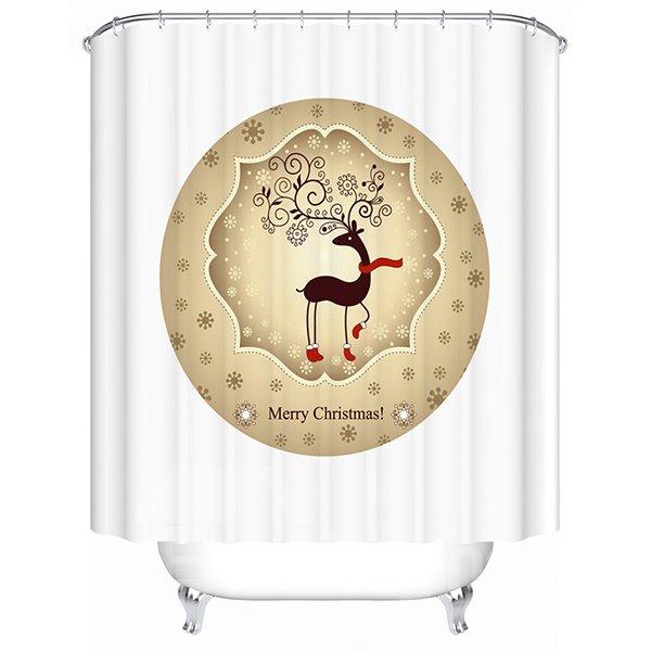 Pretty Concise Dreamlike Brisk Deer Shower Curtain