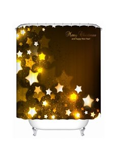 Stunning Fabulous Unique Tinkle Stars Shower Curtain
