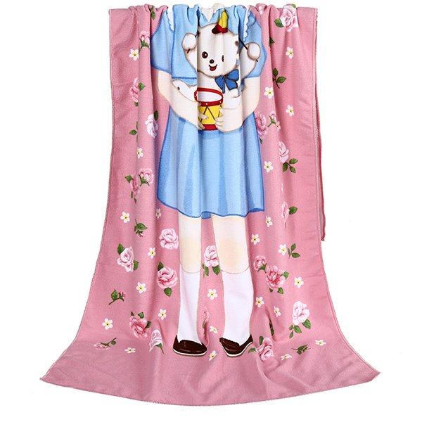 New Style Lovely Little Girl Bath Towel