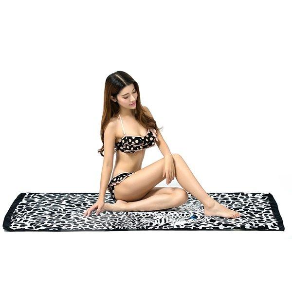 Noble Classical Leopard Print Bath Towel