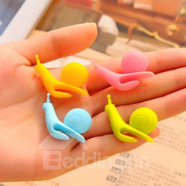 Multi-Color Snail-Design Tea Cup Tea Bag Holder