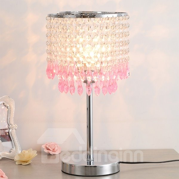 Modern Simple Multi-Color Crystal Decoration Table Lamp
