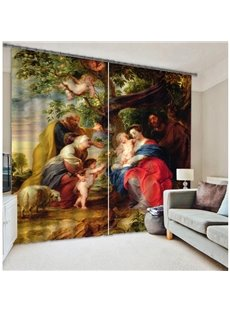 High Quality Polyester Energy Saving 3D Curtain
