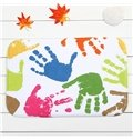 Creative Colorful Palm Prints Coral Velvet Anti-Slipping Doormat