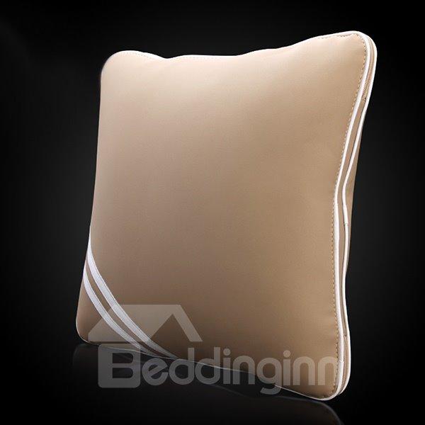 Premium Concise Designed Dual Colored Multifunctional Foldable Blacket Car Pillow