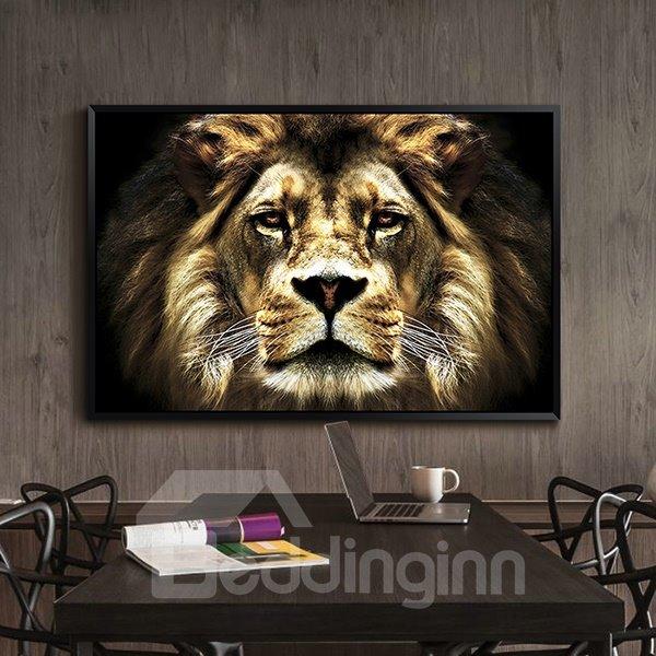 Amazing Lion 1-Panel Wall Art Print