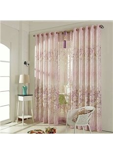 Elegant High Shading Degree Grommet Top Curtain