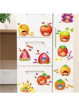 Super Cute Fruit Print Stickers for Baby&Kids