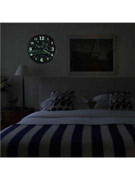 Creative Modern Luminous Bedroom 14 Inches Mute Wall Clock