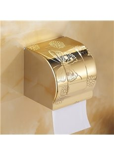Modern Fashion Home Decor Golden Butterfly Toilet Paper Holder