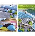 Bouncy Dream Castle Print Kids Cotton 3-Piece Duvet Cover Sets
