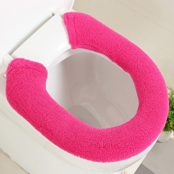 Pretty Concise Pure Colored Toilet Seat Cover