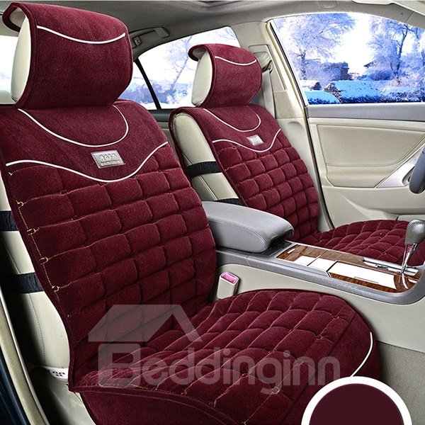 High Quality Comfortable Plush Universal Fit Car Seat Cover