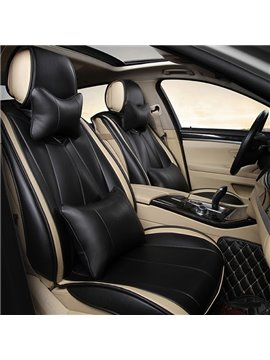 Special Designed Fashionable Pure Color Sport Style PU Leatherette Material Universal Car Seat Cover