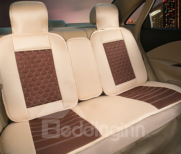 Perfect Tiger Pattern with Luxurious Dual Colored Design Car Seat Covers