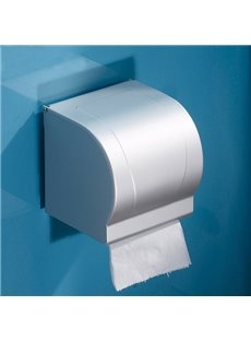 Classical Squarish Stainless Steel Toilet Paper Holder