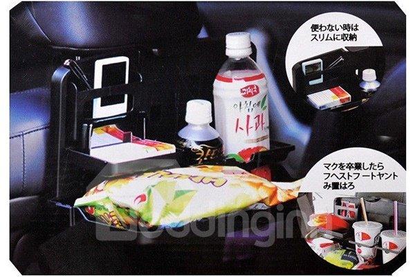 Portable and Multifunctional Durable Plastic Seatback car Organizer