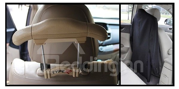 Creative Adjustable Suit Hanger Seatback Car Organizer