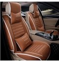 Classic And Formal Protective Linen Material Universal Five Car Seat Cover