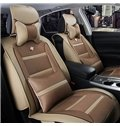 Fashionable Dual Colored Strape Leather Material Car Seat Cover