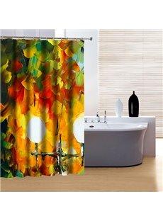 Artistic Unique Oiling Painting 3D Shower Curtain