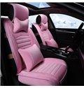 Comfortable Pure Colored Short Plush a Car Seat Cover