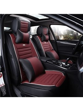 Sporty and Classic Dual Colored Side Protective Car Seat Cover