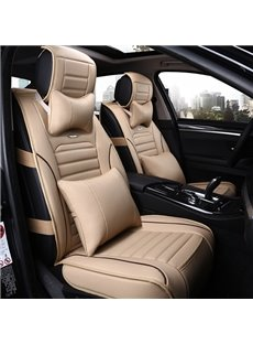Only 3 Left In Stock Classic Sport Style Contrasting Colors Design Universal Five Car Seat Cover