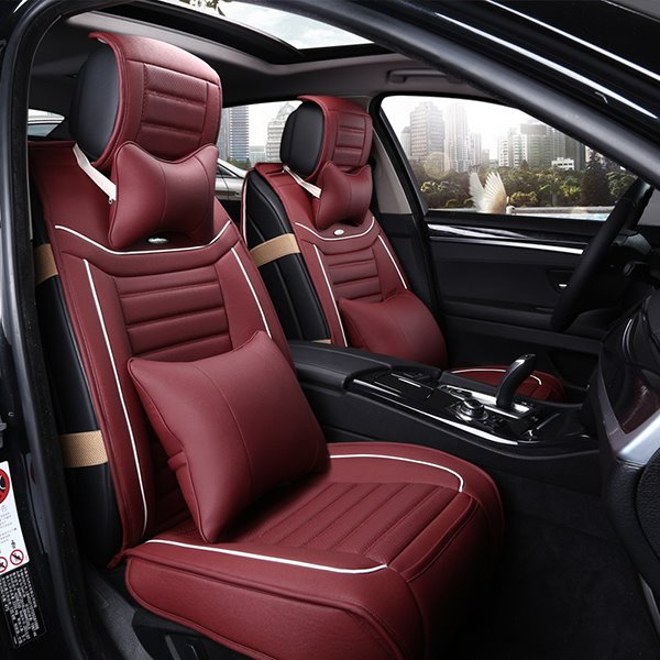 Most Cofortable PU Leatherette Material Cost-Effective Universal Car Seat Cover