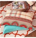 American Style Exquisite Jacquard Design Cotton 4-Piece Duvet Cover Sets