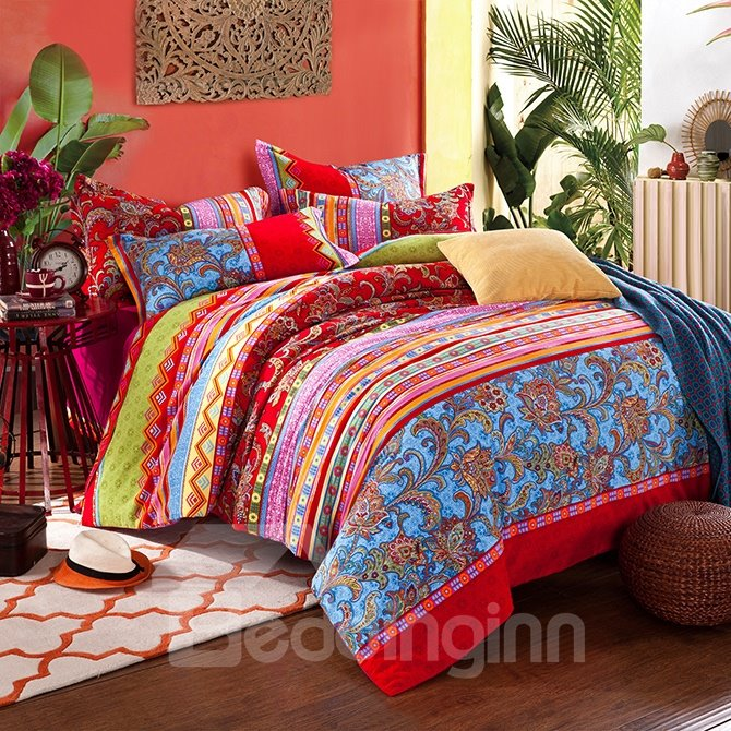 Elegant Jacquard Design Top Grade 4-Piece Duvet Cover Sets