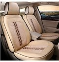 Super Comfortable Premium Ice Silk and Leather Material Car Seat Cover