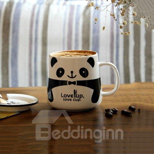 Adorable Cartoon Animal Panda Pattern Ceramic Coffee Mug