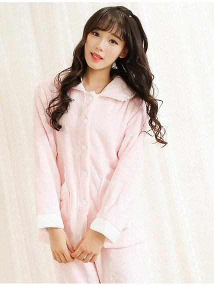 Unique Super Lovely Girlish Flannel Pajamas Sets