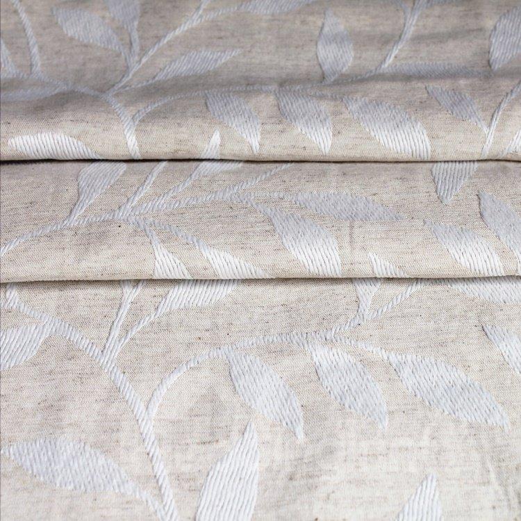 Elegant Floral Pattern Pinch Pleat Curtain
