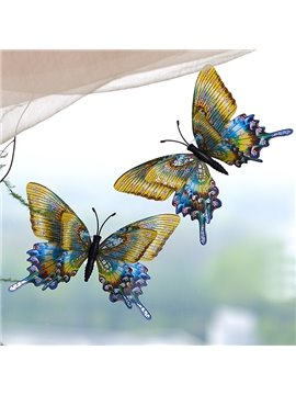 Fabulous Wall Window Decoration Sucking Disc 3D Butterfly 4-Color