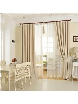 Modern Fashionable Double Pinch Pleat Curtain