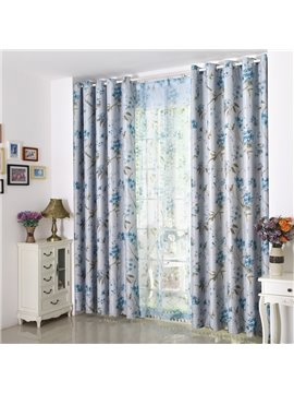 Modern Elegant High Quality Grommet Top Curtain
