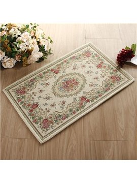 High Quality European Court Style Bath Rug