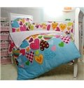 Heart of Love 10-Piece Cotton Crib Bedding Sets