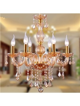 Amazing European Style 6-Head Crystal Chandelier