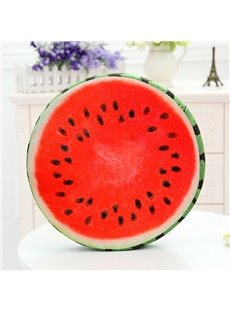 Creative Delicious Watermelon Design Soft Throw Pillow