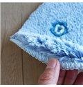 Cute Creative Blue Whale Design Water-Absorbing Anti-Slipping Doormat