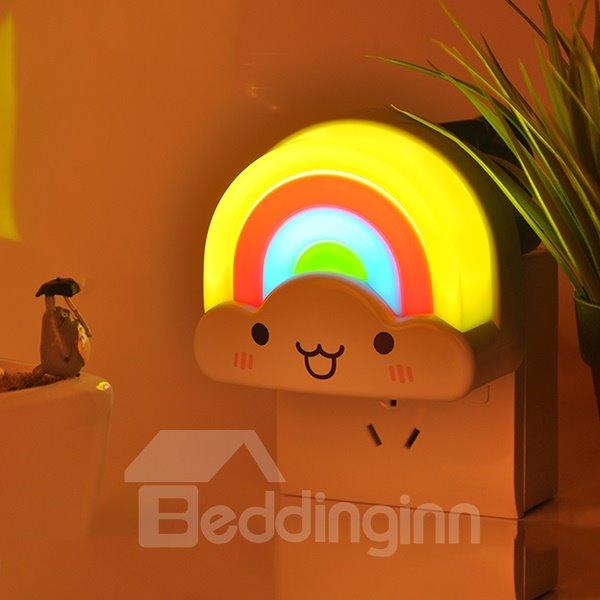Creative Lightness-Operated Colorful Rainbow Design LED Nightlight