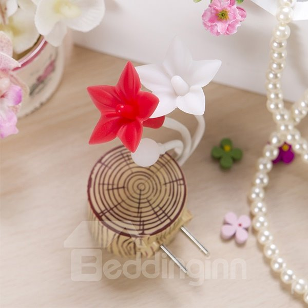 Wonderful Five-Petal Flower Lightness-Operated LED Nightlight