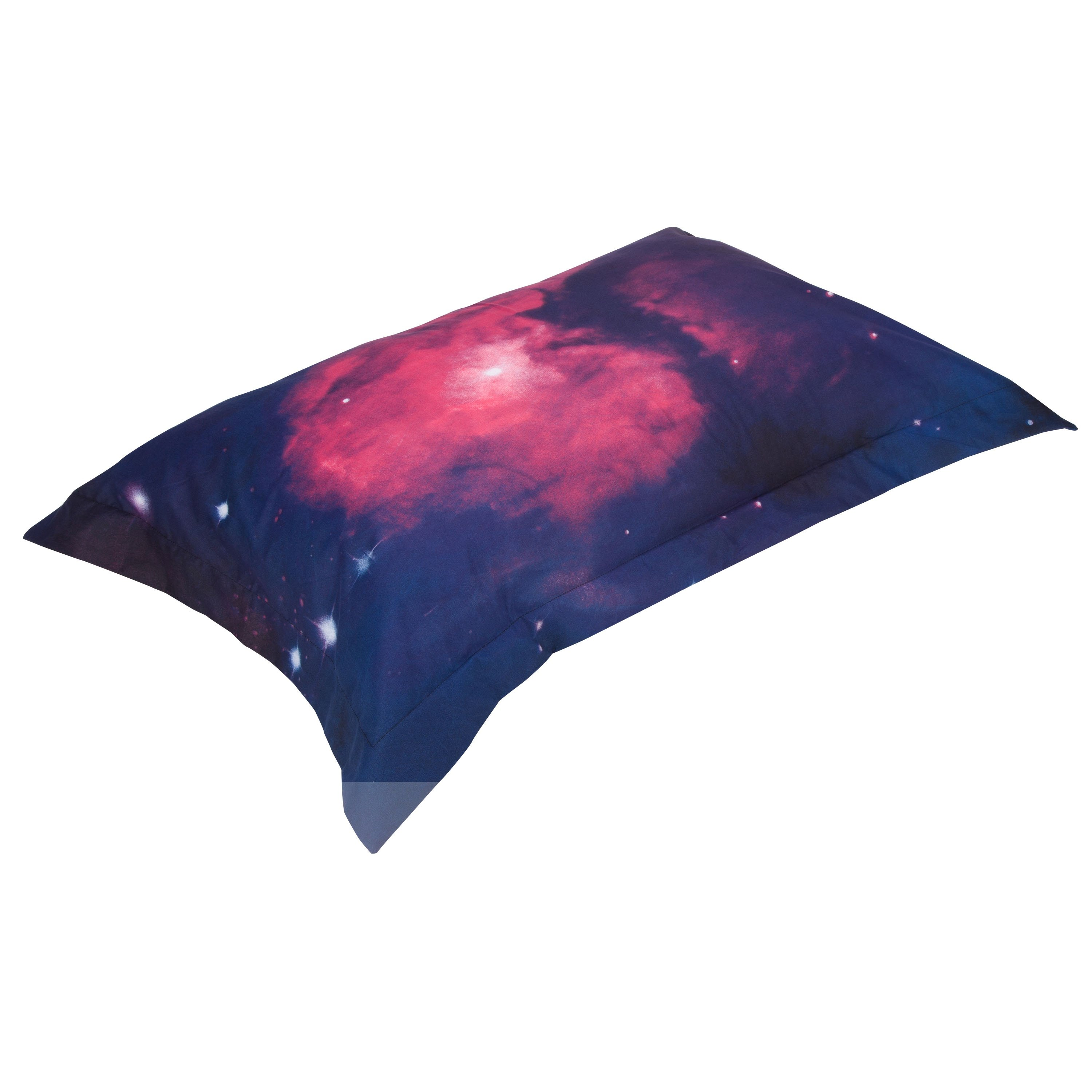 Attractive Colorful Galaxy Print Polyester 4-Piece Duvet Cover Sets