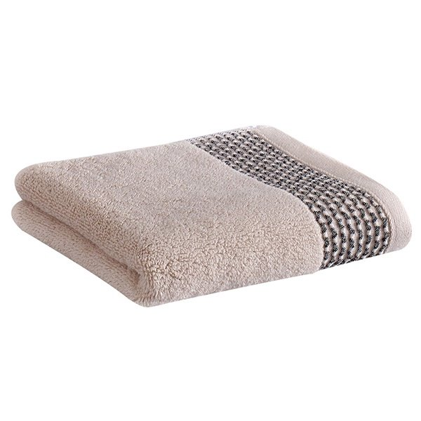 Classical Hotel Style Concise Stripe Jacquard 100% Cotton Towel