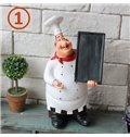 Creative Chef Design Kitchen Dining Table Use Desktop Decorations