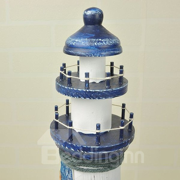 Wonderful Mediterranean Lighthouse Desktop Decoration
